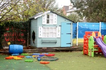 Reception/Y1 Outdoor learning area