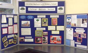 Our school display for Open Afternoon