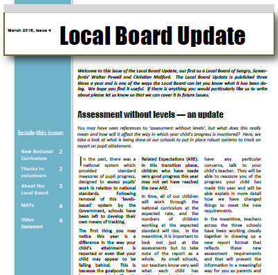 Local Board Update